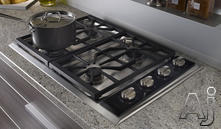 "Wolf 30"" Sealed Burner Gas Cooktop CT30G"