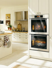 "Miele MasterChef H4000 30"" Double Electric Wall Oven H4892BP2"