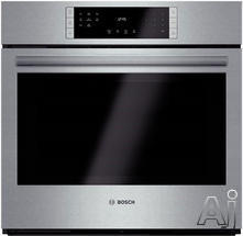 "Bosch 800 30"" Single Electric Wall Oven HBL8451UC"