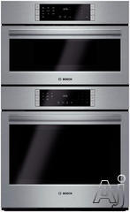 """Bosch 800 30"""" Double Electric Speed Oven HBL8751UC"""
