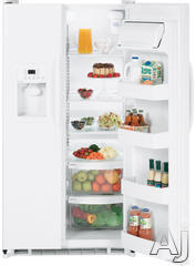 Hotpoint Freestanding Side-by-Side Refrigerator HSS25GFT