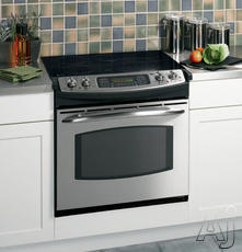 "GE 30"" Drop-In Electric Range JD968"