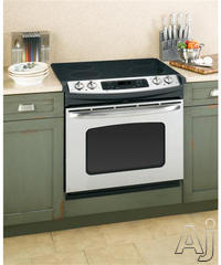 "GE 30"" Drop-In Electric Range JDP42DT"