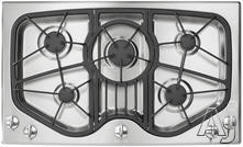"Jenn-Air 36"" Sealed Burner Gas Cooktop JGC8536AD"