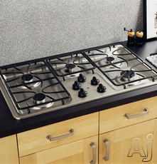 "GE 36"" Sealed Burner Gas Cooktop JGP630"