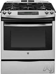 "GE 30"" Slide-In Gas Range JGS650"