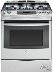 "GE 30"" Slide-In Gas Range JGS750SEF"