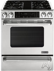 "Jenn-Air 30"" Slide-In Gas Range JGS8860BDP"