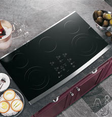 "GE 36"" Smoothtop Electric Cooktop JP980"
