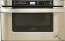 Sharp Insight Pro 1.2 Cu. Ft. Microwave Drawer KB6524P