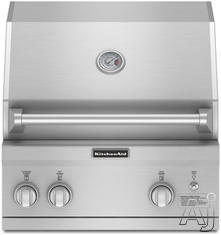 KitchenAid Built In Natural Gas Barbecue Grill KBNS271TSS