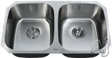 Kraus Double Bowl Kitchen Sink KBU22