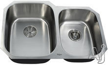 Kraus Double Bowl Kitchen Sink KBU24