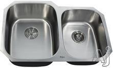 Kraus Double Bowl Kitchen Sink KBU24