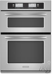 "KitchenAid 30"" 30"" Double Electric Wall Oven KEHU309SSS"