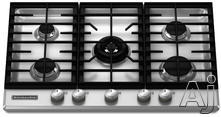 "KitchenAid Architect II 30"" Gas Cooktop KFGS306VSS"