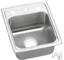 Elkay Lustertone Collection Drop-In Sink LRAD151765