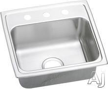 Elkay Lustertone Collection Drop-In Sink LRAD1918551