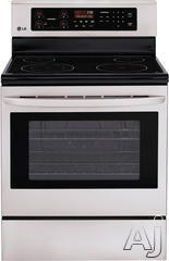 "LG 30"" Freestanding Electric Range LRE3021ST"