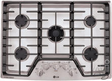 "LG 30"" Sealed Burner Gas Cooktop LSCG306ST"
