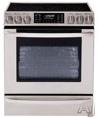 "LG 30"" Slide-In Electric Range LSE3092ST"