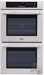 "LG 30"" Double Electric Wall Oven LWD3010ST"