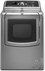 Maytag Bravos 7.3 Cu. Ft. Electric Front Load Dryer MEDB850W