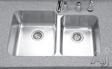 Houzer Double Bowl Kitchen Sink MES32211