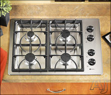 "Maytag 30"" Sealed Burner Gas Cooktop MGC5430BD"