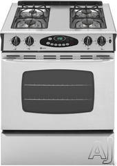 "Maytag 30"" Slide-In Gas Range MGS5752BD"