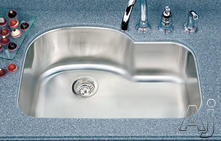 Houzer Single Bowl Kitchen Sink MH32001