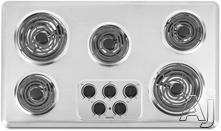 "Maytag 36"" Coil Electric Cooktop MEC4536W"