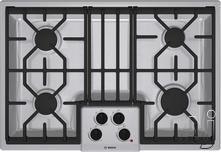 "Bosch 30"" Sealed Burner Gas Cooktop NGM50X4UC"