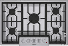"Bosch 30"" Sealed Burner Gas Cooktop NGM8054UC"