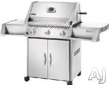 Napoleon Freestanding Natural Gas Barbecue Grill P450RBNSS