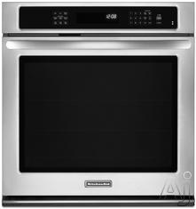 "KitchenAid 27"" 27"" Electric Wall Oven KEBS179B"