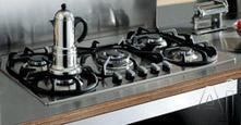"""Bertazzoni 36"""" Sealed Burner Gas Cooktop P36500X"""