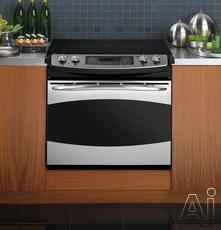 "GE Profile 30"" Drop-In Electric Range PD968"