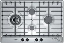 """Bosch 30"""" Sealed Burner Gas Cooktop PCK755UC"""