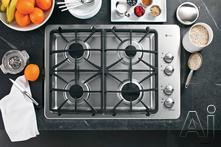 """GE Profile 30"""" Gas Cooktop PGP943DT"""