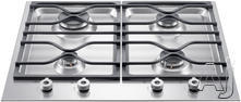 "Bertazzoni 24"" Sealed Burner Gas Cooktop PM24400X"