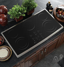 "GE 36"" Smoothtop Electric Cooktop PP980"