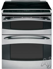 """GE Profile 30"""" Slide-In Electric Range PS978STSS"""