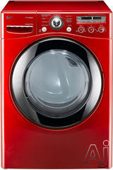 LG Front Load Electric Dryer DLEX2450R