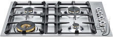"Bertazzoni 30"" Sealed Burner Gas Cooktop QB30400X"