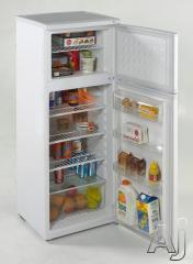 Avanti 7.5 Cu. Ft. Top Freezer Refrigerator RA758WT