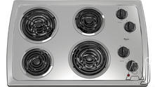 "Whirlpool 30"" Coil Electric Cooktop RCS3004RS"