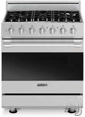 "Viking 30"" Freestanding Gas Range RDSCG2305BX"
