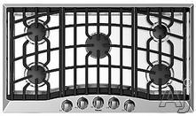 "Viking 36"" Sealed Burner Gas Cooktop RVGC3365B"