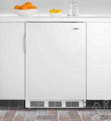 Summit Built In Upright Freezer SCFF55